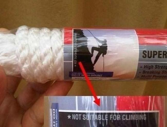 Not Suitable for Climbing-15 Images That Will Give You Real Trust Issues
