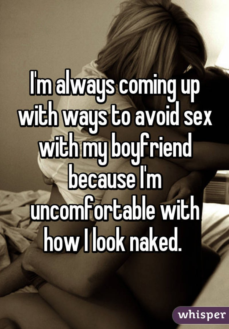 The Internal Fears-15 Women Reveal Why They Avoid Sex With Their Partner