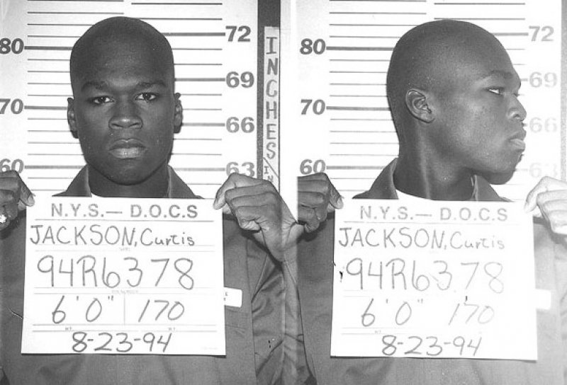 50 Cent-15 Celebrities Who Spent Time In Prison