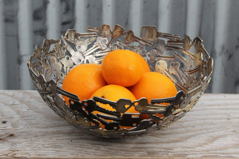 It is Time for a Beautiful Bowl-15 Beautiful Items That Are Carved Out Of Scrap