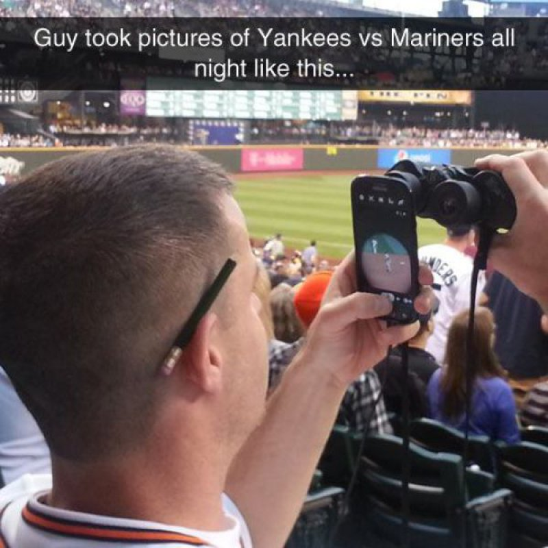 Why Buy Pricey Cameras and Lens When You Have a Phone and Binoculars -15 People Who Know How To Solve Their Daily Life Problems