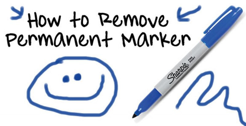 The Permanent Marker Removal Guide-Simple Solutions To Your 15 Slightly Annoying Everyday Problems