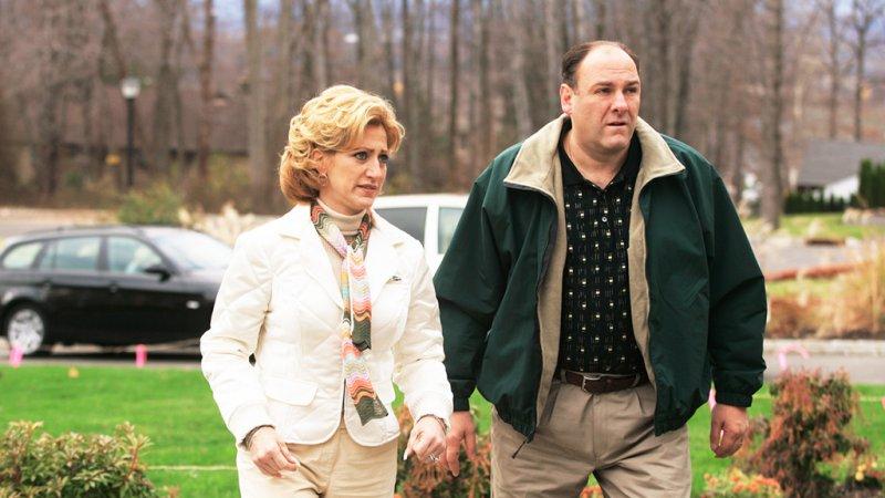 Tony & Carmela Soprano - The Sopranos-12 Greatest Fat Guy / Skinny Wife Couples On TV Shows