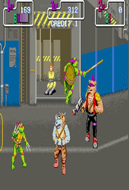 Teenage Mutant Ninja turtles-15 Best Old But Gold Video Games Of 90's