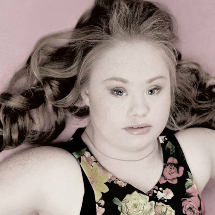 Mom is her First Photographer-Meet Madeline, A Teen Model With Down Syndrome
