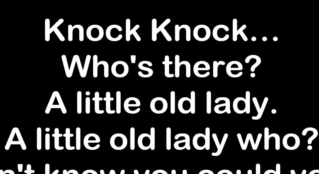 15 Knock Knock Jokes that Will Make You Lol