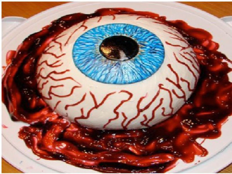 Crazy Eyeball-15 Most Disgusting Yet Hilarious Cake Fails Ever