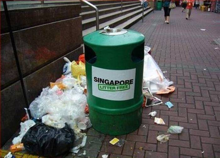 Singapore, Litter Free-15 Images That Show Irony In This World