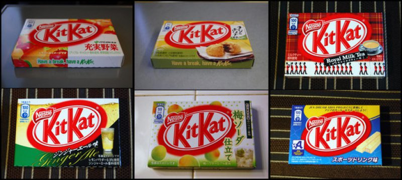 Kit Kat Flavors-15 Weird Things That Can Happen Only In Japan
