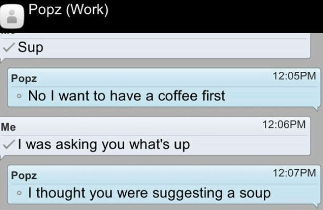 I Want a Coffee First-15 Hilarious Texts From Dads