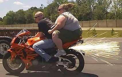 Motorcycle Ride: Expectations vs. Reality-15 Images That Show Strong Difference Between Instagram And Reality