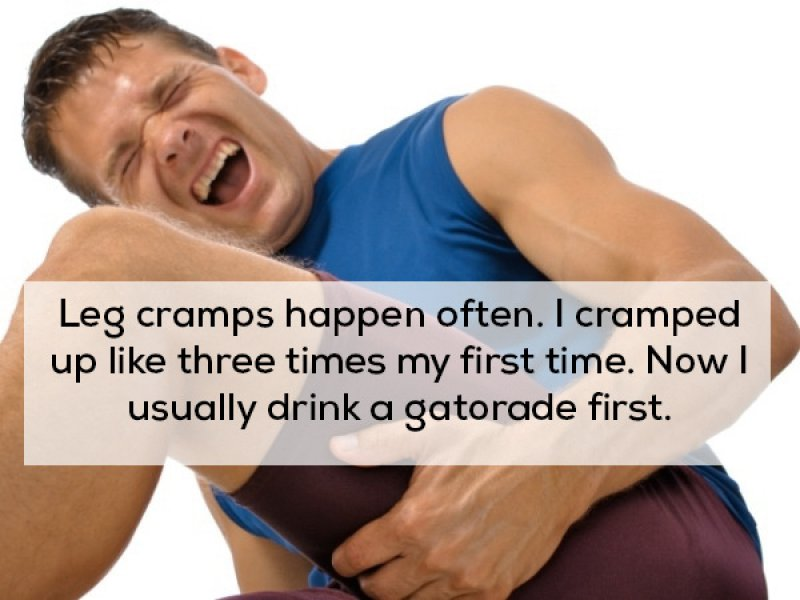 You Gotta Stay Fit-15 People Reveal What They Learned About Sex After Losing Their Virginity