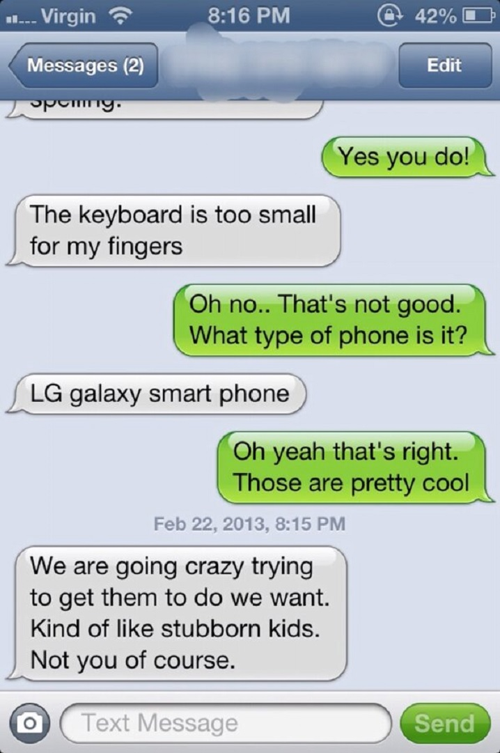 Smartphones are Like Stubborn Kids-15 Hilarious Texts From Grandparents