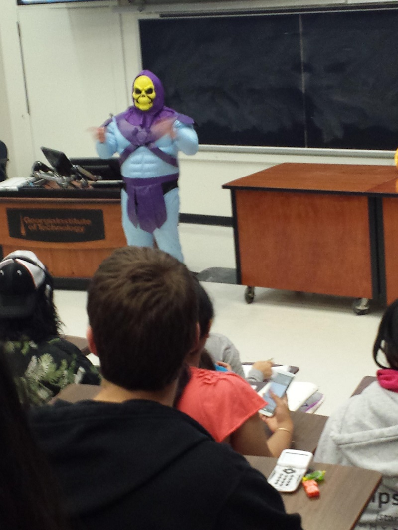 When You Have a Class on Halloween Day-15 Awesome Professors That Everyone Wishes To Have