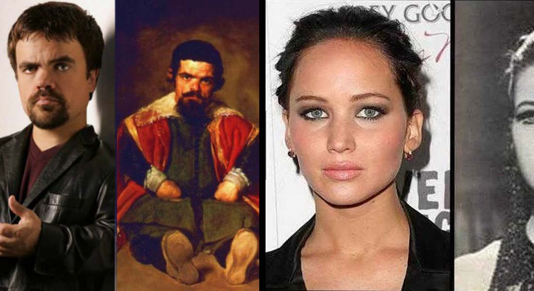 15 Celebrities Who Look Like People From Past