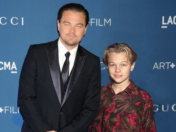 Leonardo Dicaprio-15 Celebrities Posing With Younger Versions Of Themselves
