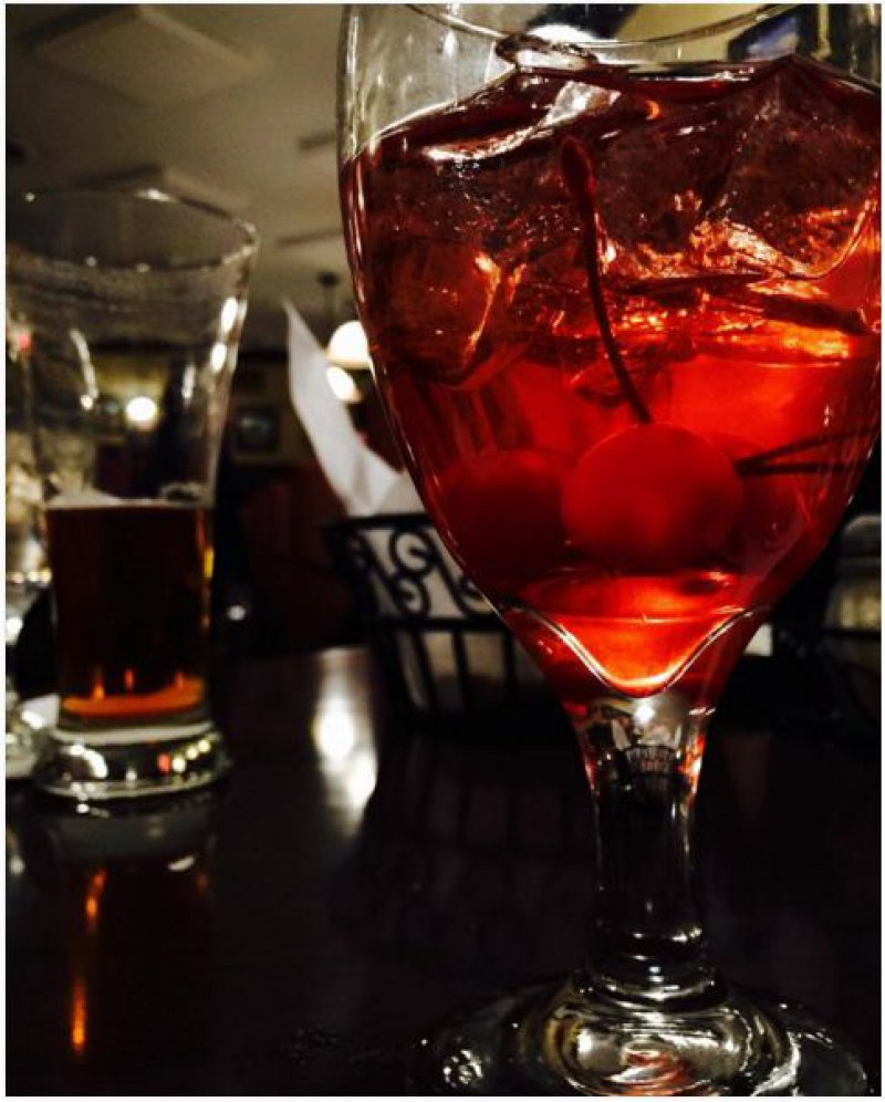 Shirley Temple Cocktail-15 Drinks You Can Order If You Are Trying To Stay Sober