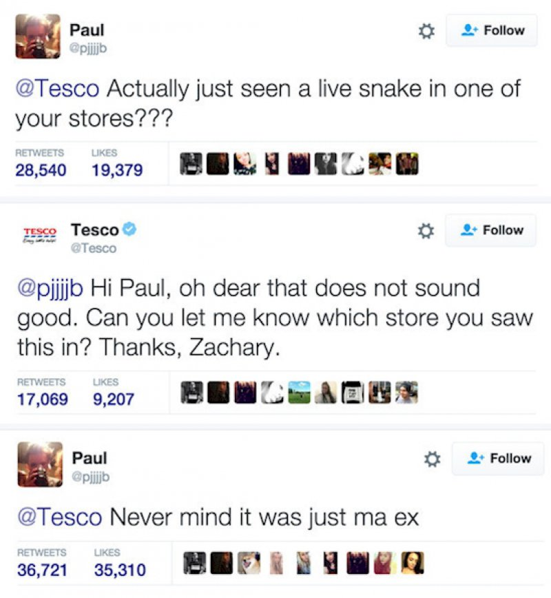 His Ex Looks Like what?-11 Times Customers Perfectly Trolled Brands On The Internet