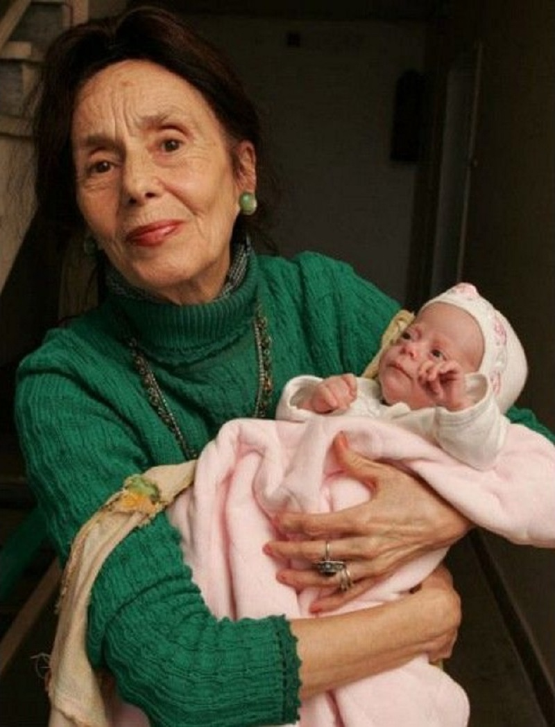 Oldest Romanian Mother To Give Birth-12 World's Oddest Mothers Ever