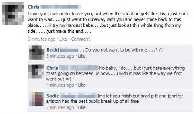 Let's Discuss Our Personal Problems Publicly on Facebook-15 Images That Show How Internet And Social Media Ruins Relationships
