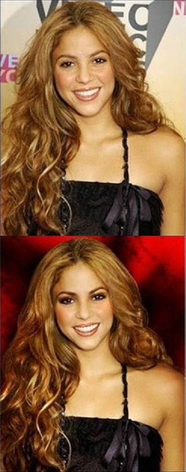 Shakira-Worst Celebrities Before And After Photoshop Pics