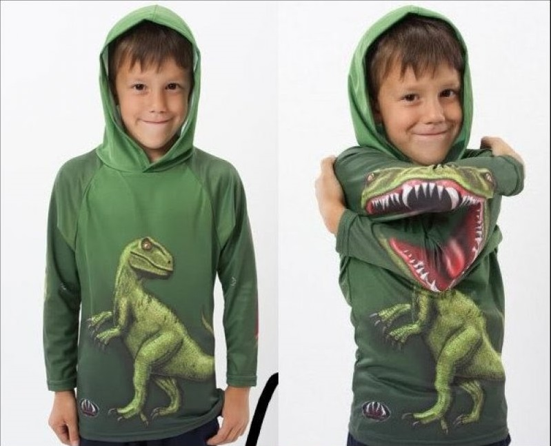 Roaring Dino Sweatshirt-36 Strangest Gadgets That You Can Buy
