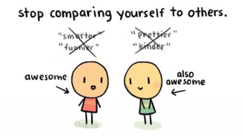 Stop Comparing Yourself to Others-15 Things To Do When You're Depressed