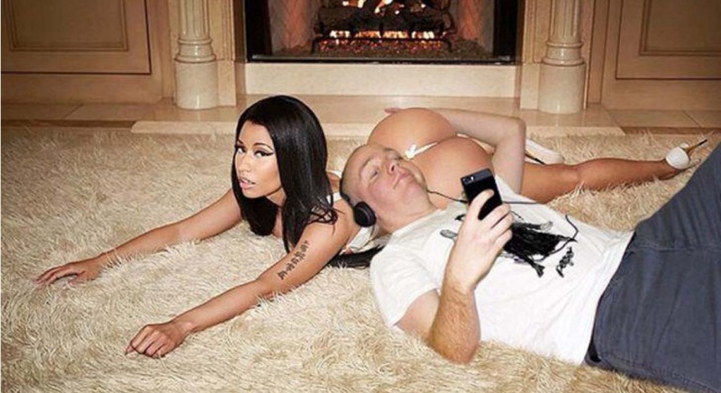 Man photoshops himself with famous celebrities