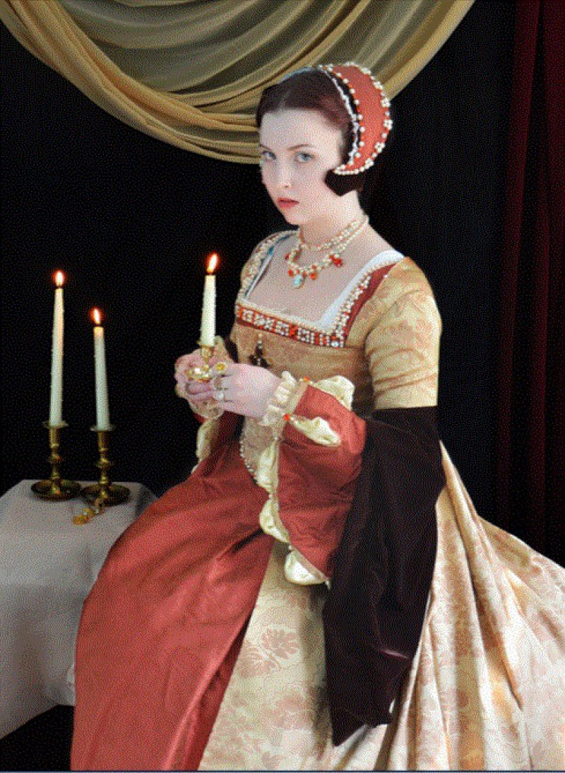 This Mary Tudor Inspired Costume-Meet The Girl Who Sews Her Own Cosplay Dresses