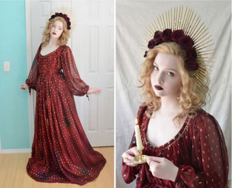 Heinrich Mucke Inspired Dress-Meet The Girl Who Sews Her Own Cosplay Dresses