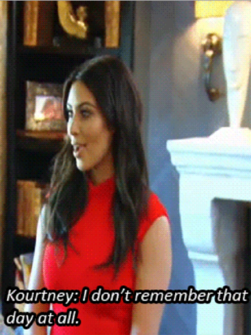 When Kourtney Decides Not to Give a $hit About Kim's Vogue Appearance-15 Times Kim Kardashian Was Shut Down By Her Family