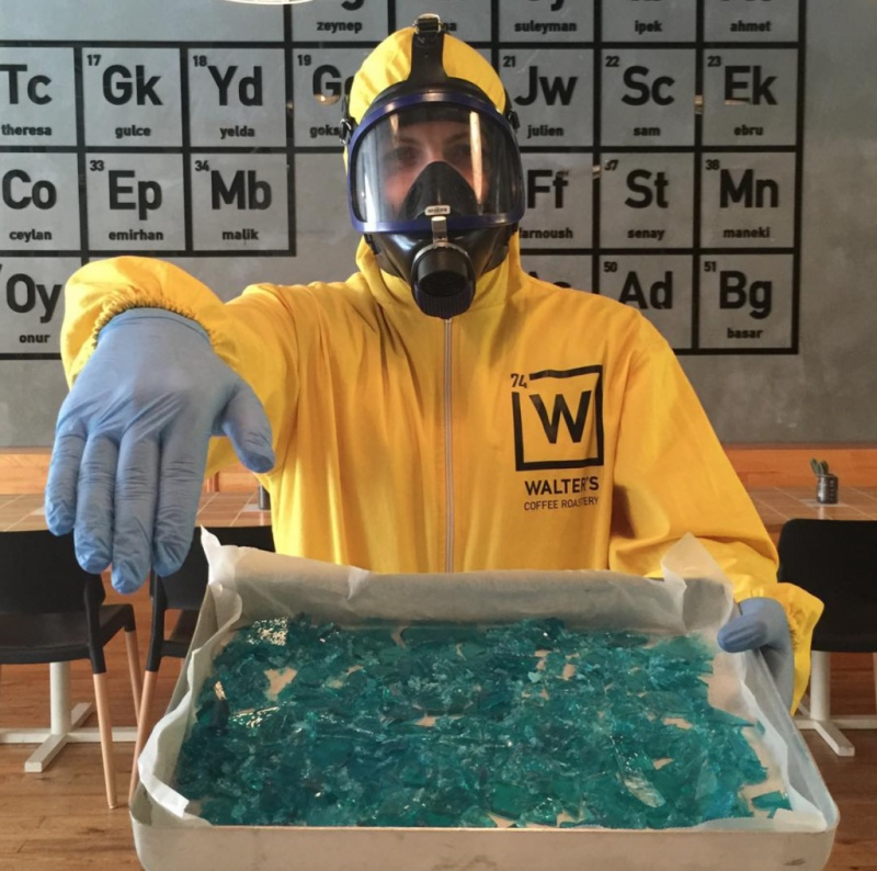 Taste Some Blue Meth Candy-Breaking Bad Coffee Shop Is The Best Coffee Shop You Will Ever See
