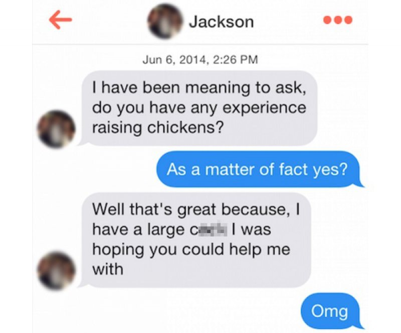 This Hilarious Sexually Explicit Pickup Line-15 Funniest Pickup Lines To Use On Tinder