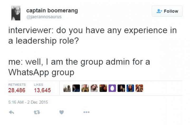 Now that's Some Serious Qualification to Put on a Resume-15 Hilarious Tweets About Work That Are Way Too Real
