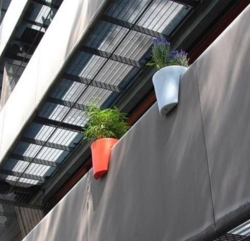 Hook-On Balcony Planters-36 Strangest Gadgets That You Can Buy