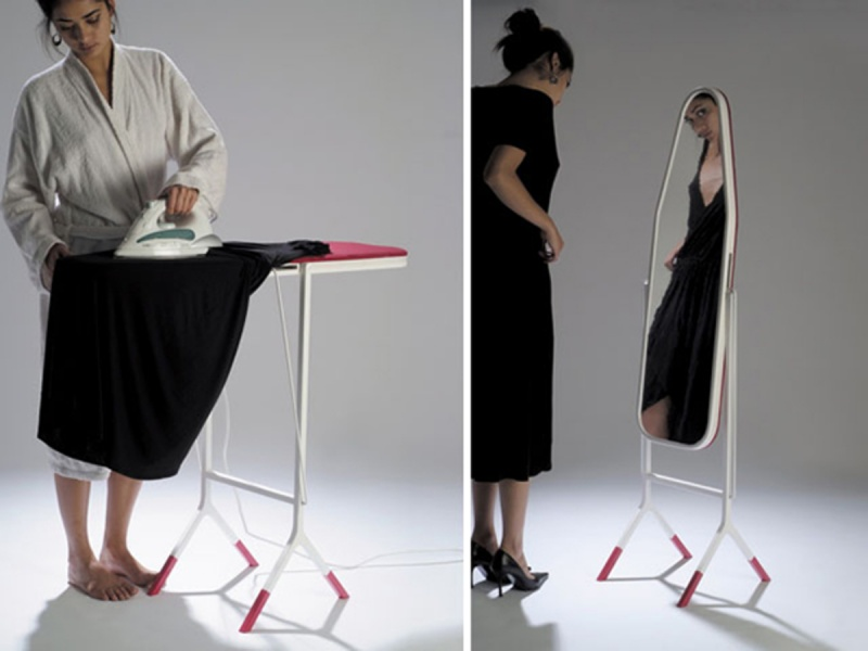 Mirror Ironing Board-15 Awesome Innovations That Simplify Everyday Life