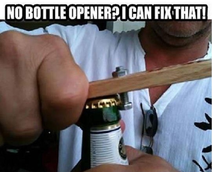 This Cheap Fix to Missing Bottle Opener-15 Times Engineers Showed How To Fix Things Easily