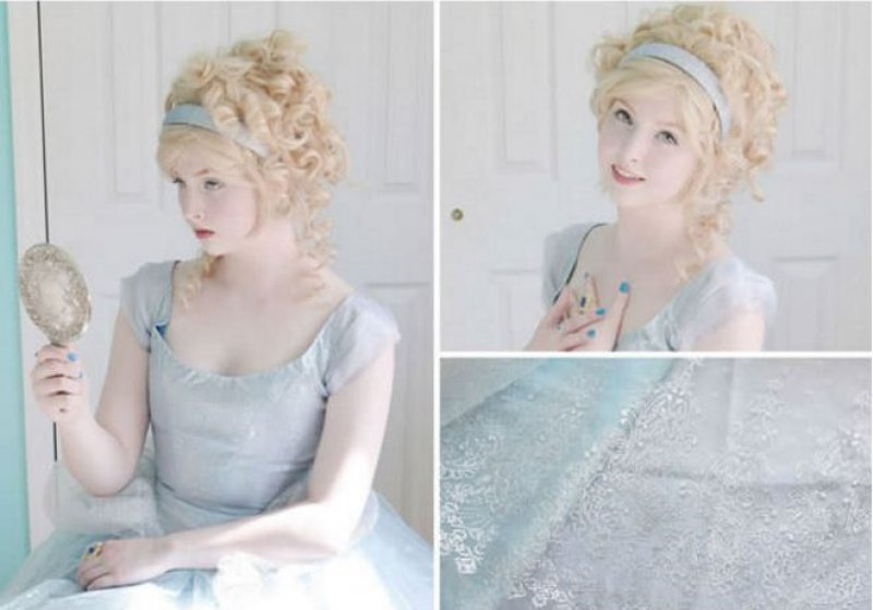 This Cinderella Inspired Costume-Meet The Girl Who Sews Her Own Cosplay Dresses