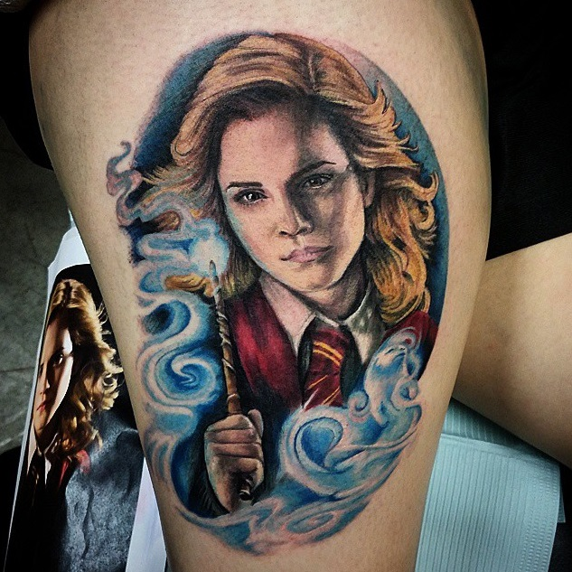 Hermione Granger-Best Harry Potter Tattoos