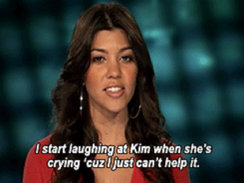 When Kourtney Kardashian Finds Kimmie's Crying Funny-15 Times Kim Kardashian Was Shut Down By Her Family