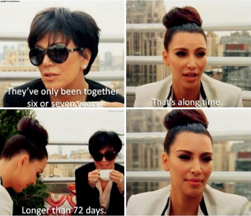 And The Marriage Keeps Haunting Her-15 Times Kim Kardashian Was Shut Down By Her Family