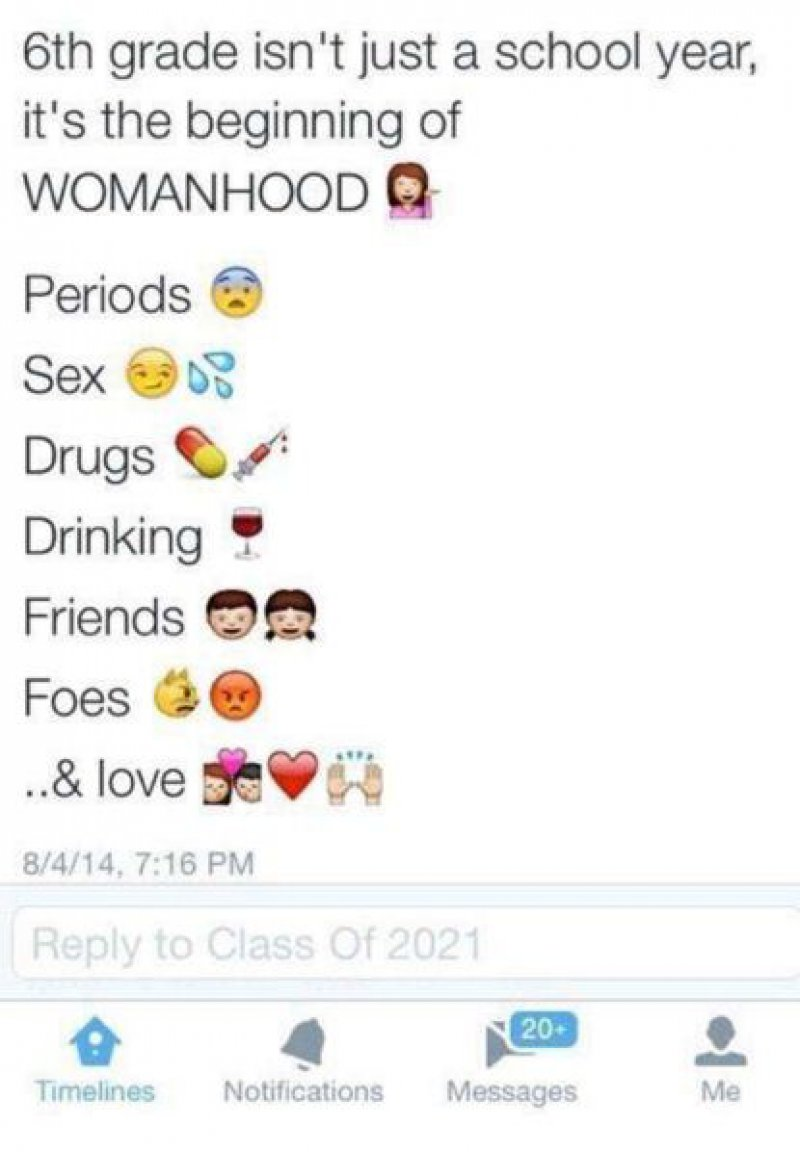 Isn't 6th Grade too Early to Do All These?-15 Most Disgusting People In The History Of Twitter