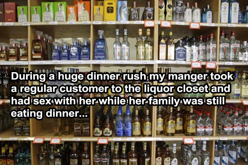 Naughty Manager-15 Servers Reveal The Craziest Things That Happened In Restaurants