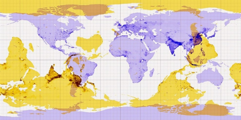 This Map Will Answer That Curious Question-15 Maps That Will Change The Way You See The World