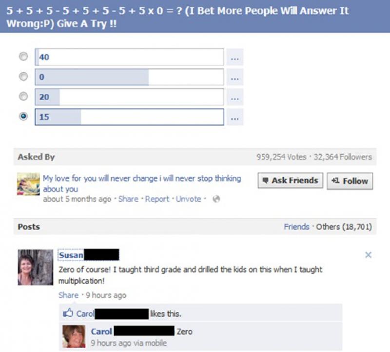 Epic Math Teacher Fail-15 Teachers And Their Epic Facebook Fails