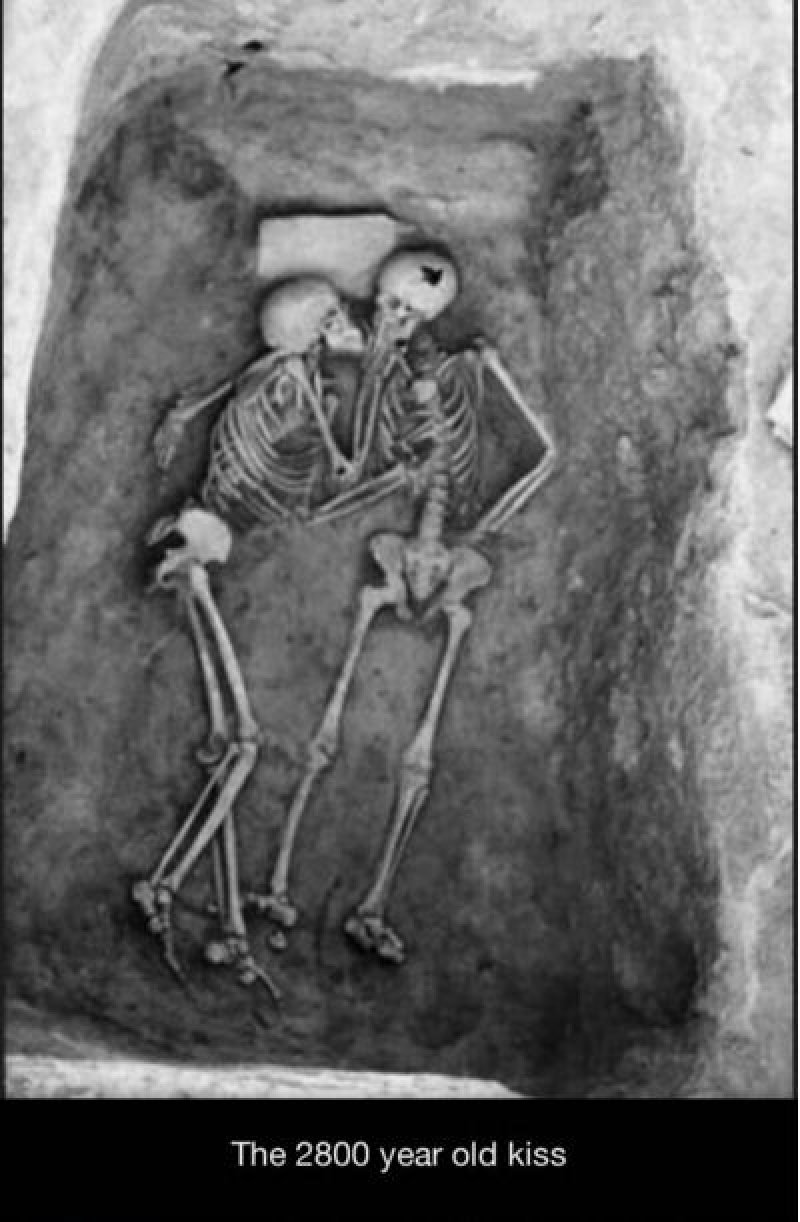 The Hasanlu Lovers-15 Historical Pictures That Are Really Shocking