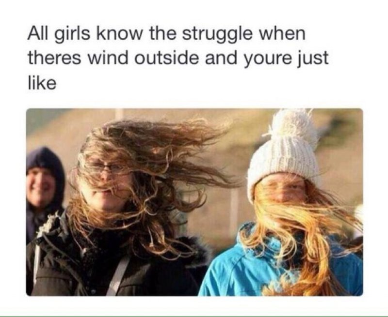 Wind, Hair and Lip Gloss-15 Images That Most Men Will Never Understand