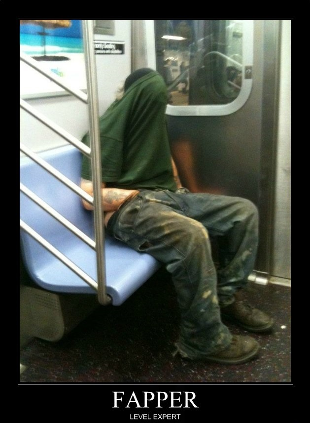 I Can't See People – So People Can't See Me-15 Most Awkward Public Transport Pictures