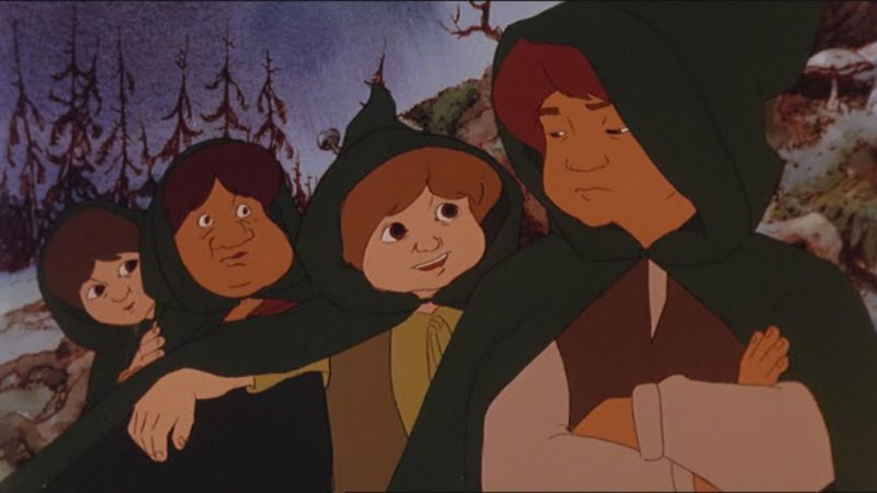 Lord Of The Rings Cartoon Movie-15 Movies That Were Planned But Never Finished Filming