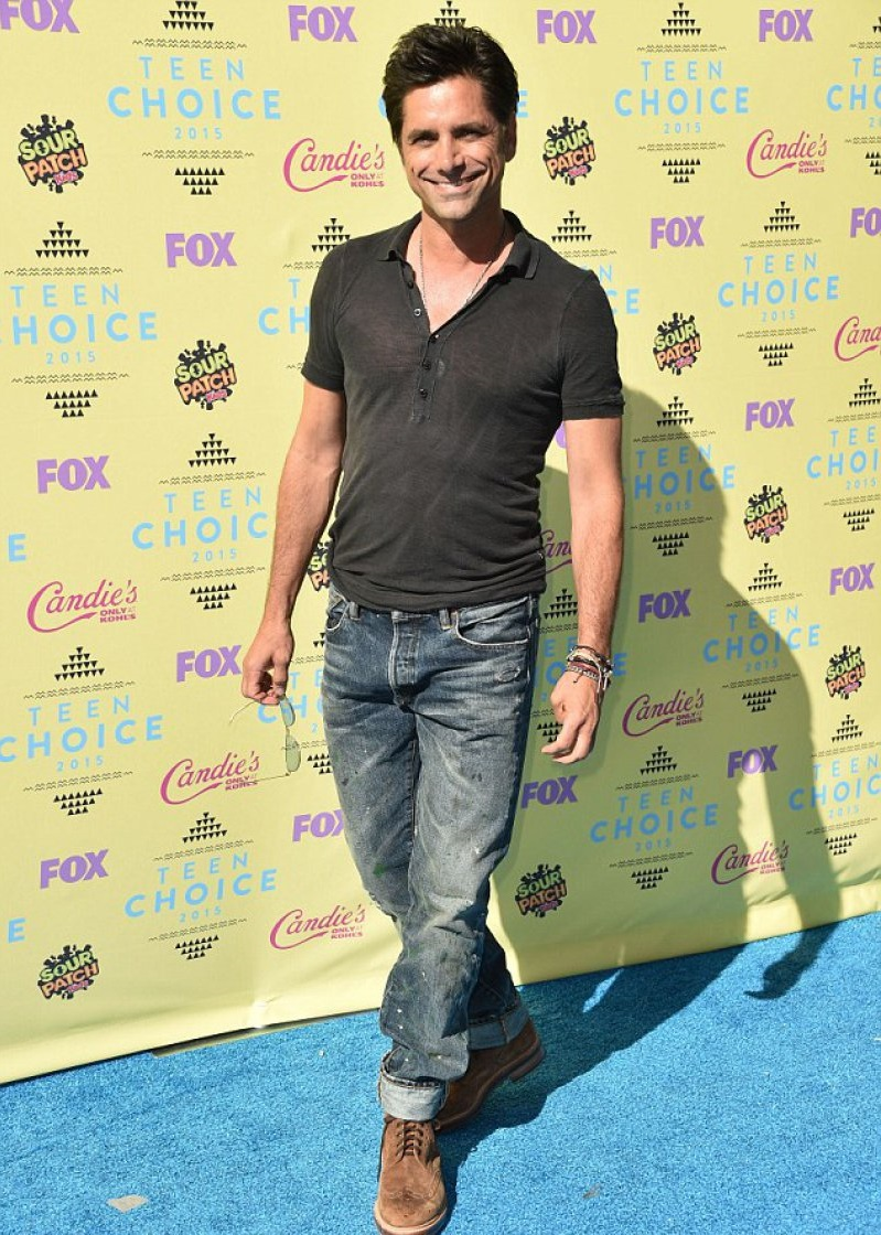 John Stamos (52 Years)-15 Celebrities Who Don't Age Like Other Human Beings